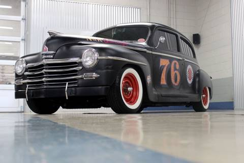 1948 Plymouth Tudor Sedan for sale at Evolve Motors in Chicago IL