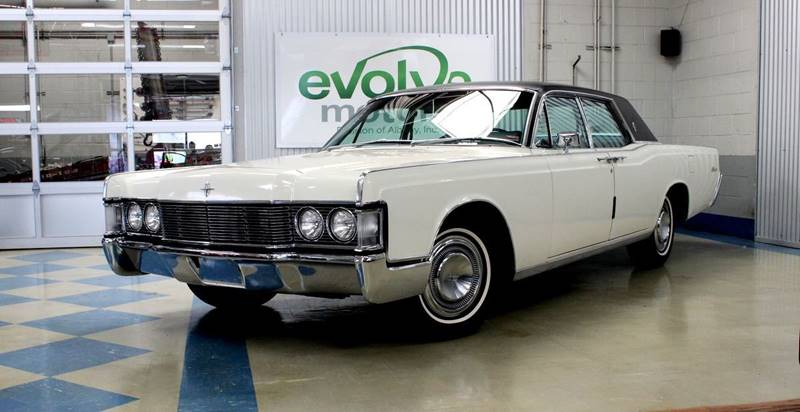 1968 Lincoln Continental for sale at Evolve Motors in Chicago IL