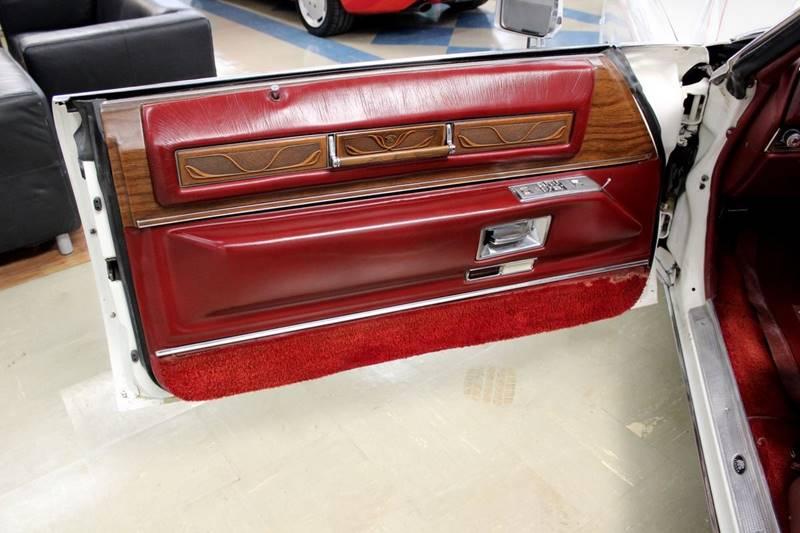 1975 Cadillac Eldorado for sale at Evolve Motors in Chicago IL