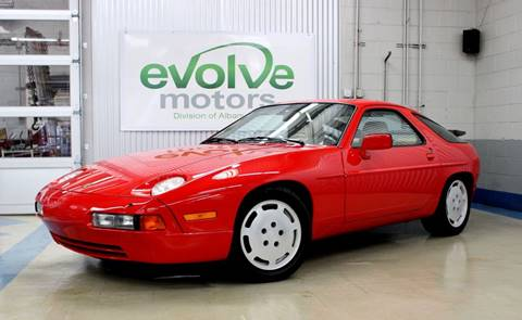 1988 Porsche 928 for sale at Evolve Motors in Chicago IL