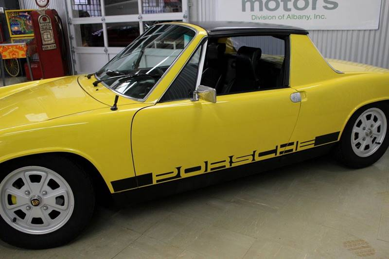 1976 Porsche 914-4 for sale at Evolve Motors in Chicago IL