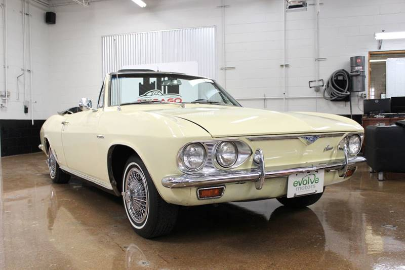 1966 Chevrolet Corvair for sale at Evolve Motors in Chicago IL