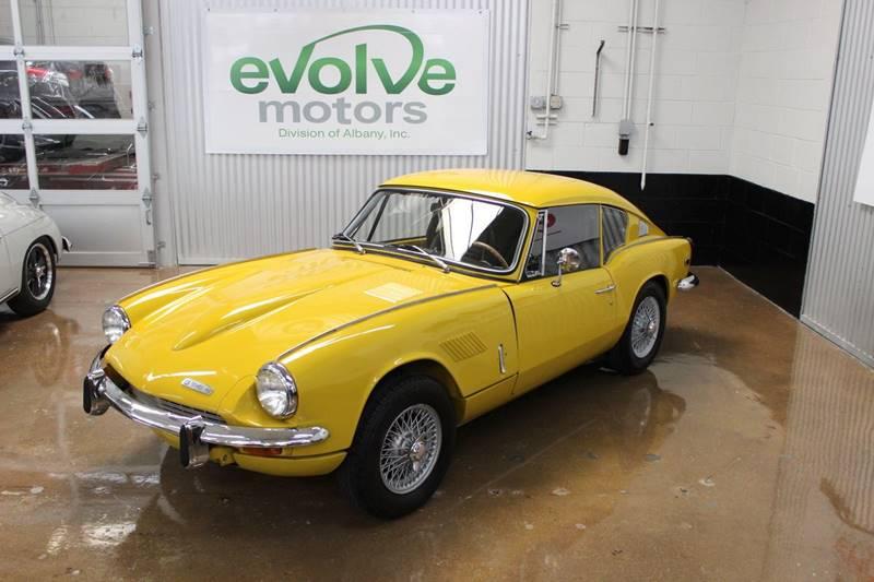 1969 Triumph GT6+ for sale at Evolve Motors in Chicago IL