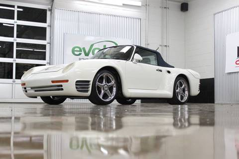 1988 Porsche 911 for sale at Evolve Motors in Chicago IL
