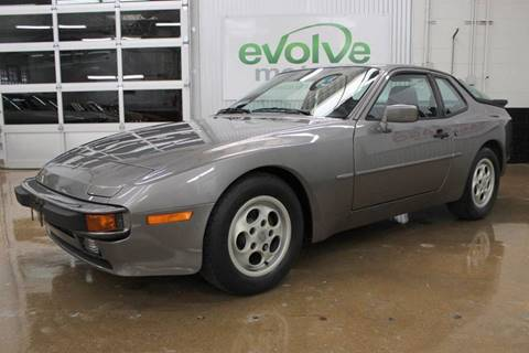 1987 Porsche 944 for sale at Evolve Motors in Chicago IL