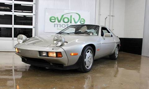 1981 Porsche 928 for sale at Evolve Motors in Chicago IL