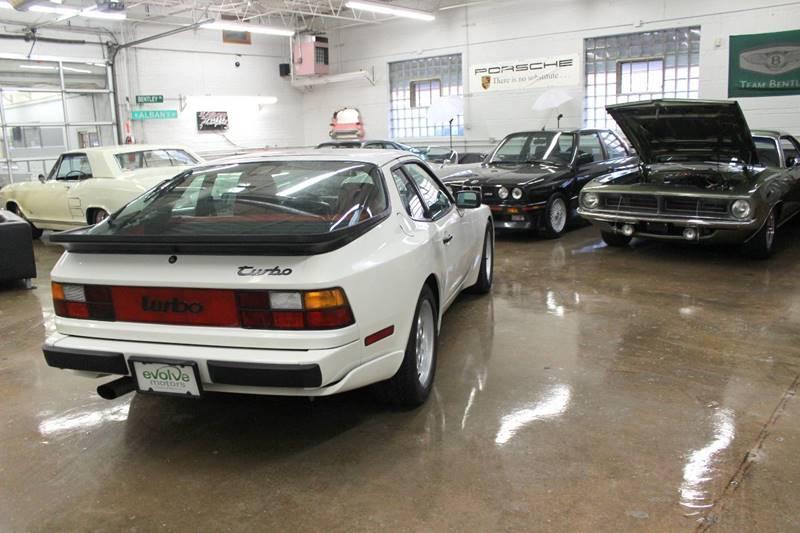 1986 Porsche 944 for sale at Evolve Motors in Chicago IL
