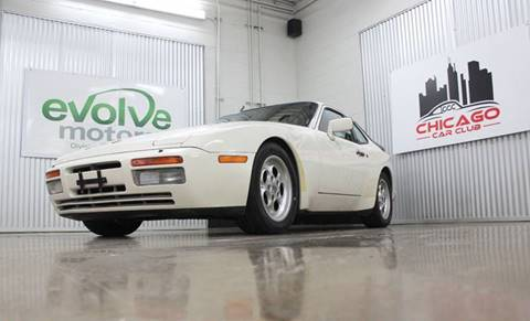 1986 Porsche 944 for sale at Evolve Motors in Chicago IL