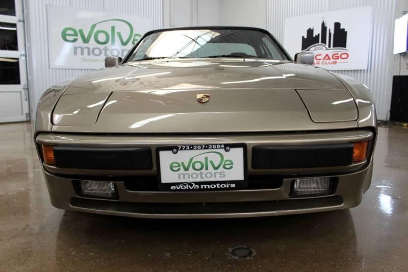 1983 Porsche 944 for sale at Evolve Motors in Chicago IL