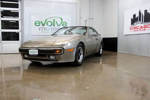 1983 Porsche 944 for sale at Evolve Motors in Chicago IL