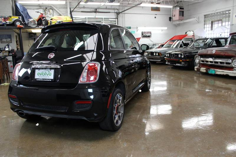 2012 FIAT 500 for sale at Evolve Motors in Chicago IL