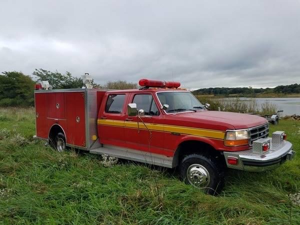 1997 Ford F-450 Fire Rescue MVP Quigley - Chicago IL