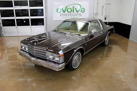 1979 Chrysler Le Baron for sale at Evolve Motors in Chicago IL