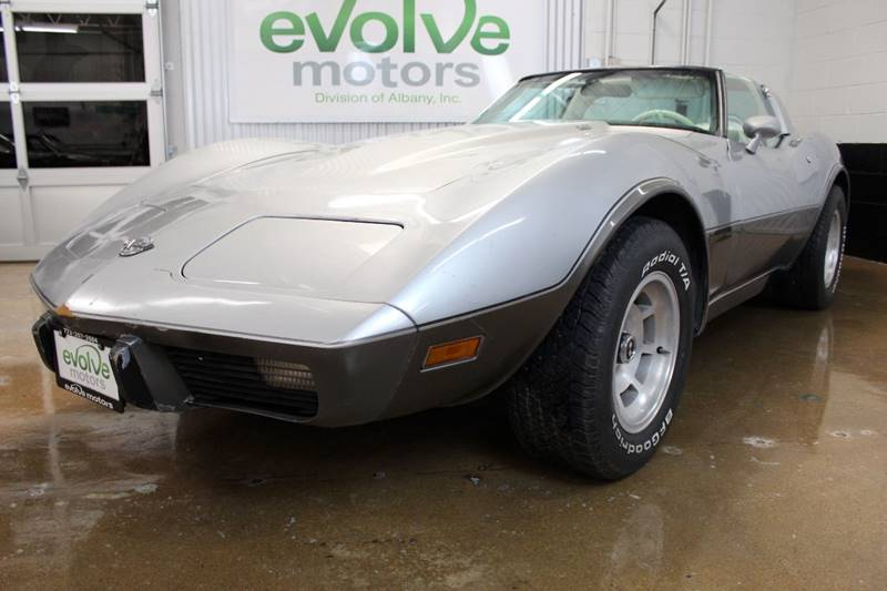 1978 Chevrolet Corvette Silver 25th Anniversary - Chicago IL