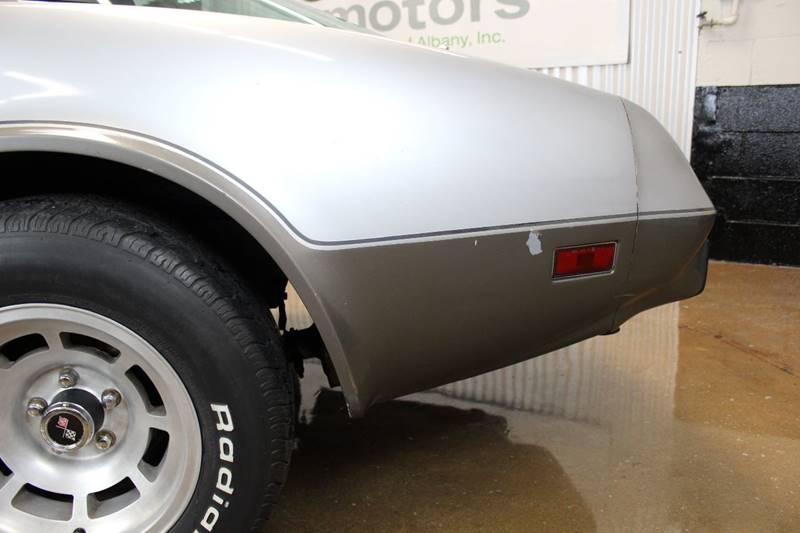 1978 Chevrolet Corvette for sale at Evolve Motors in Chicago IL