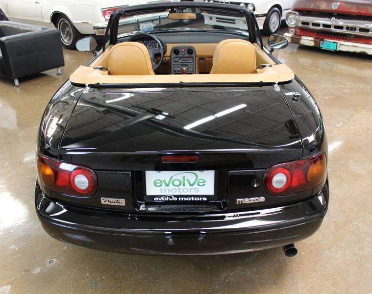 1992 Mazda MX-5 Miata Black Miata - Chicago IL