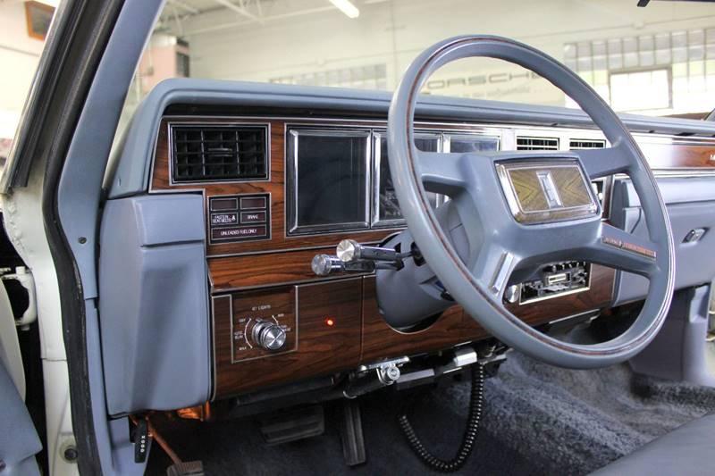 1983 Lincoln Mark VI for sale at Evolve Motors in Chicago IL