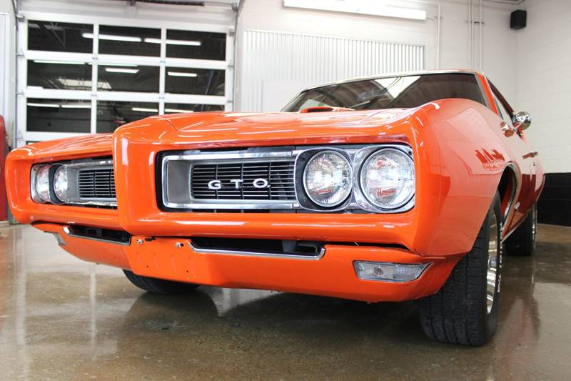 1968 Pontiac GTO for sale at Evolve Motors in Chicago IL