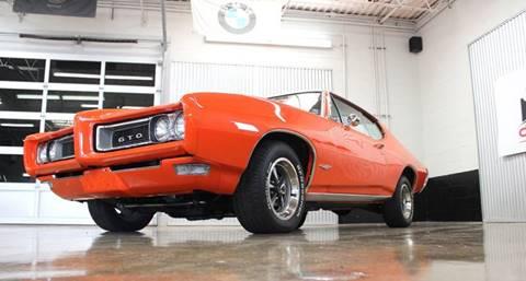 1968 Pontiac GTO for sale at Evolve Motors in Chicago IL