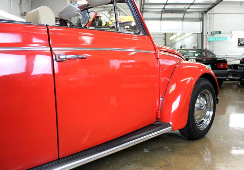 1960 Volkswagen Beetle Convertible for sale at Evolve Motors in Chicago IL