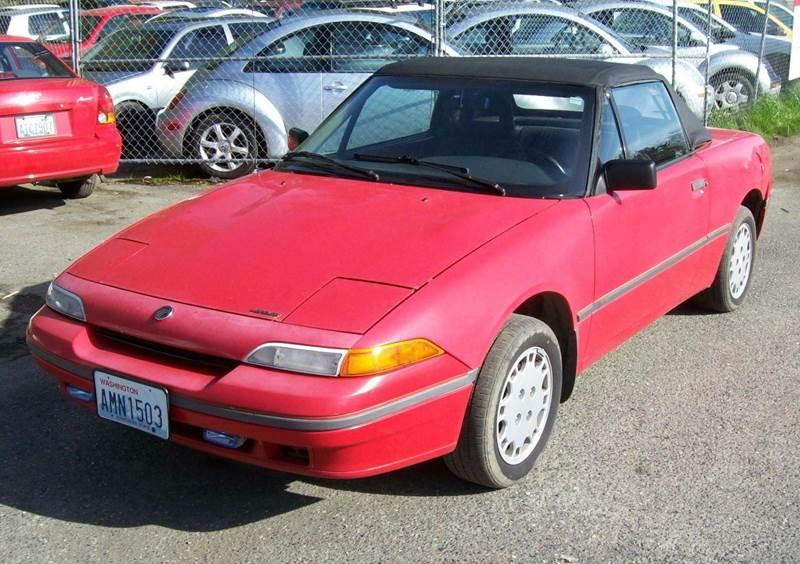 1993 Mercury Capri for sale at Main Street Motors in Bellingham WA