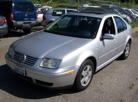 2001 Volkswagen Jetta for sale in Bellingham, WA