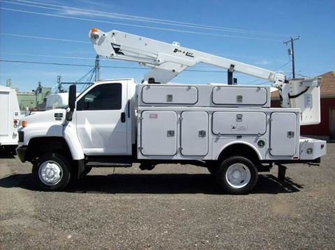 2008 Chevrolet C4500 BUCKET TRUCK 4X4 for sale in Spokane Valley, WA