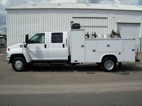 2008 Chevrolet 5500 CREW CAB UTILITY for sale in Spokane Valley, WA