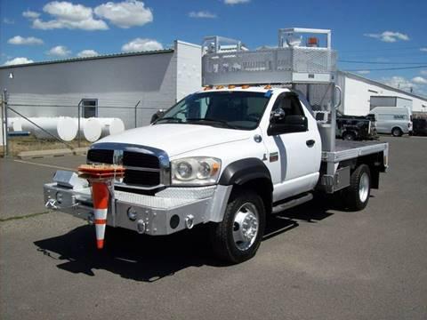 2009 Dodge RAM 5500 FLATBED 4X4 for sale in Spokane Valley, WA
