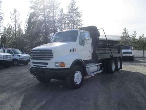 2005 Sterling LT 9500 3 AXEL DUMP TRUCK for sale at BJ'S COMMERCIAL TRUCKS in Spokane Valley WA