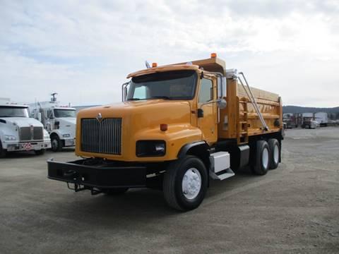 2003 International 5600 1 DUMP TRUCK for sale at BJ'S COMMERCIAL TRUCKS in Spokane Valley WA