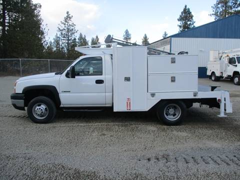 2007 Chevrolet 3500 HD UTILITY 4X4 for sale at BJ'S COMMERCIAL TRUCKS in Spokane Valley WA