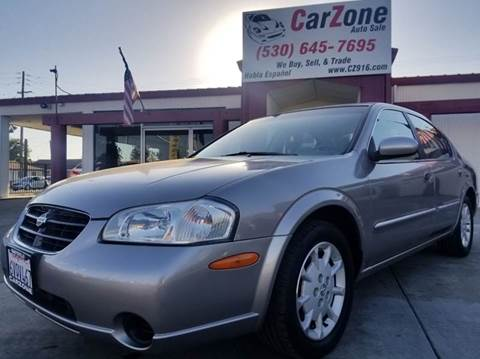 2001 Nissan Maxima For Sale In Marysville, CA