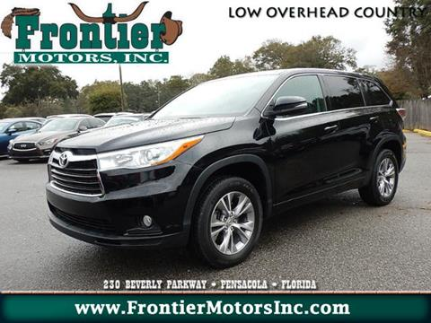 Toyota highlander for sale in pensacola fl for Frontier motors pensacola fl