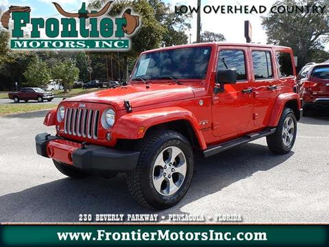 Jeep wrangler unlimited for sale in pensacola fl for Frontier motors pensacola fl