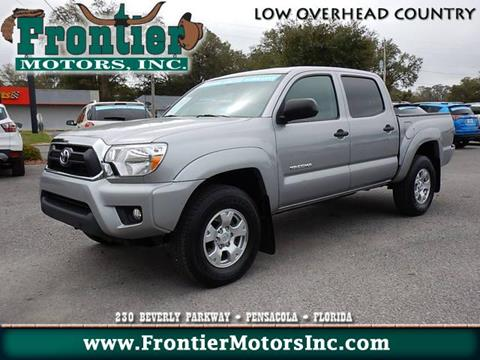 Certified toyota tacoma for sale in florida for Frontier motors pensacola fl