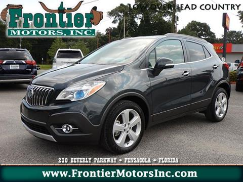 2016 buick encore for sale in florida for Frontier motors inc pensacola fl