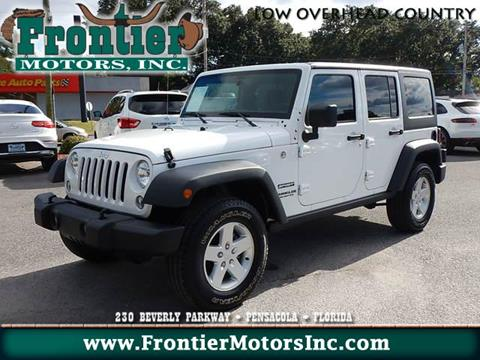 2017 Jeep Wrangler Unlimited for sale in Pensacola, FL