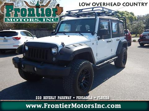 2016 Jeep Wrangler Unlimited for sale in Pensacola, FL