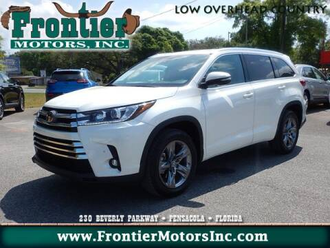 2019 Toyota Highlander Limited for sale at Frontier Motors Inc in Pensacola FL
