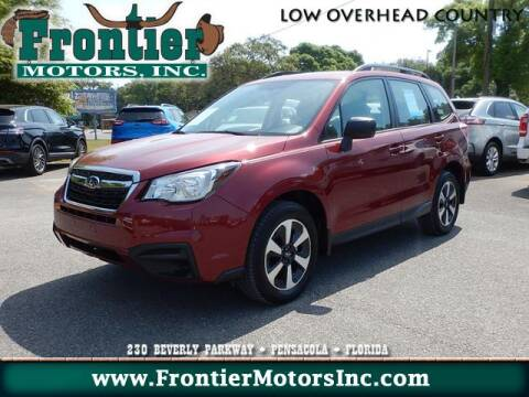 2018 Subaru Forester 2.5i for sale at Frontier Motors Inc in Pensacola FL