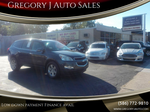 2011 Chevrolet Traverse for sale at Gregory J Auto Sales in Roseville MI