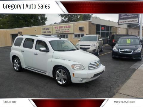 2008 Chevrolet HHR for sale at Gregory J Auto Sales in Roseville MI