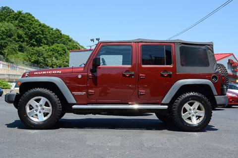2008 Jeep Wrangler Unlimited for sale in Pittsburgh, PA