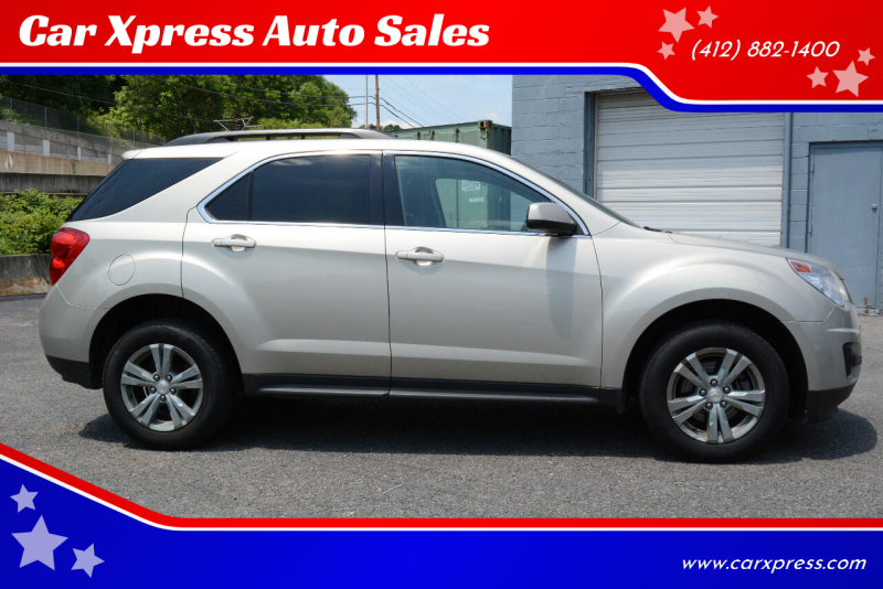 2015 Chevrolet Equinox for sale at Car Xpress Auto Sales in Pittsburgh PA