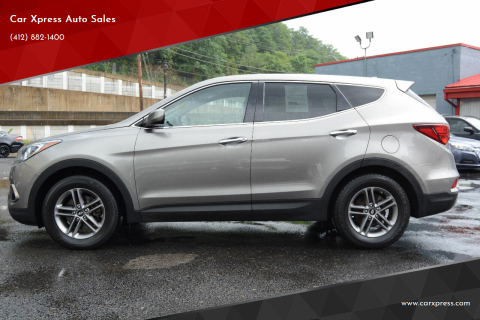 2017 Hyundai Santa Fe Sport for sale at Car Xpress Auto Sales in Pittsburgh PA