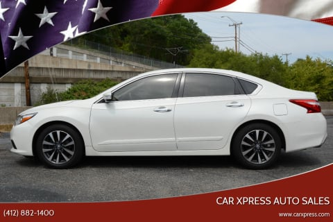 2016 Nissan Altima for sale at Car Xpress Auto Sales in Pittsburgh PA