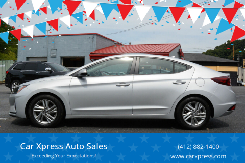 2019 Hyundai Elantra for sale at Car Xpress Auto Sales in Pittsburgh PA