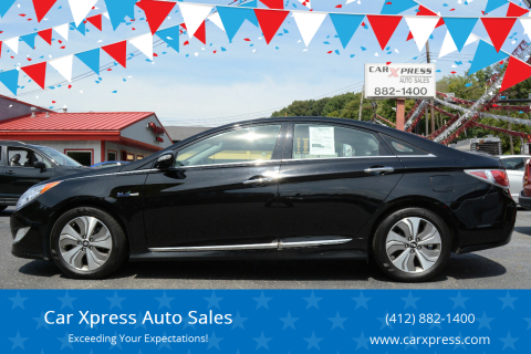 2014 Hyundai Sonata Hybrid for sale at Car Xpress Auto Sales in Pittsburgh PA
