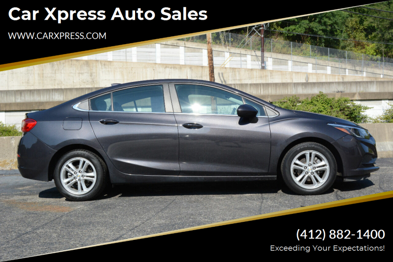 2017 Chevrolet Cruze for sale at Car Xpress Auto Sales in Pittsburgh PA